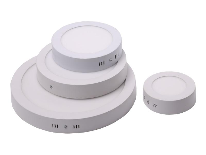 IP44 3W-30W Освещение дорожных проектов 60-110LM / W Светодиодные панельные светильники